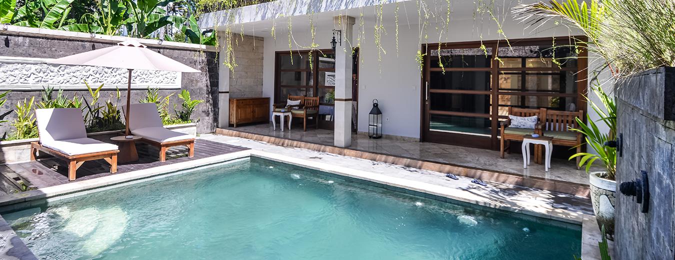 Bali Santi Bungalows Villa Spa By The Beach At Candidasa Bali